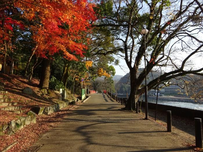 宇治川遊歩道